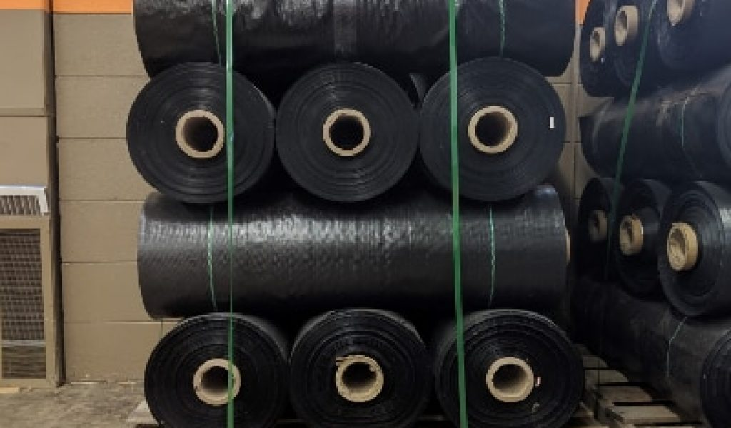 Silt Fence Fabric Plow Rolls